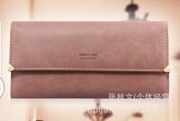 FREE SHIPPING!2014New Hot Brand Design Women Wallets Pu Leather Female Wallets Fashion Rivet Lady Purse Clutch Women's Handbag