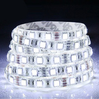 3528 300 5M 12v Warm White Flexible LED Strip Jewelry Showcase SMD 60led/m Outdoor Waterproof IP65 adhesive tape cree