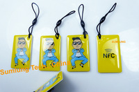 Free Shipping(4 pcs) NFC Smart Tags 13.56MHz Rfid 1K Cards Label for Sony HTC Nokia Samsung Galaxy