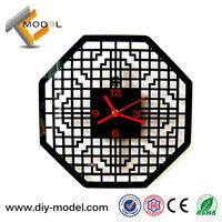 Drop Shipping Stylish 3D Simple DIY Innovative Funcy Clock Novelty Items Retails/Wholesale TC-S539