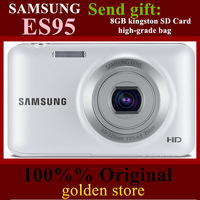 FreeShipping Via SG post 100%% Original Samsung ES95 Digital Camera 2.7 inch 17million 5x WIFI gift: 8GB SD Card and Camera Bag!