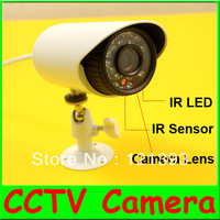 4pcs/lot 1/3''CMOS 480TVL Outdoor CCTV Security Camera Weatherproof Day Night Vision with 22 IR LEDs