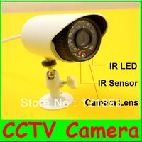 4pcs/lot 1/3''CMOS 480TVL Outdoor CCTV Security Camera Weatherproof Day Night Vision with 22 IR LEDs