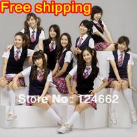 GIRLS GENERATION school uniforms club dresses  dance costumes wholesale clothing