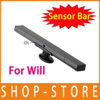 Free shipping Wireless Remote Sensor Bar for Nintendo Wii Controller