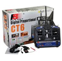 CT6B FlySky 2.4Ghz 6CH Transmitter w/FS-R6B Receiver RC diy quadcopter f450 f550 fpv250 260 320 400 fpv Airplane Glider