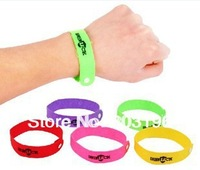 300PCS/Lot Free Shipping GREENLUCK Mosquito Killer Mosquito repellent Bracelets Mosquito Textile Wristbands