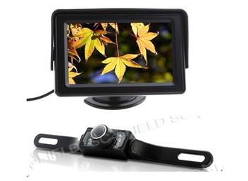 Car Wireless Reversing Camera Kit 4.3 Inch Back Up LCD  TFT LCD Car View Monitor + Wireless Reversing Camera parking sensor