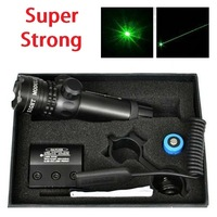 Green Laser Point Dot Sight Tactical Scope 2 Switch Mount Air Rifle Gun Box Set Green Laser Sight
