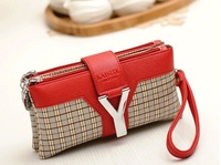 2013 hot-selling free/drop shipping FF102 lady wallet and wallet brand and women leather wallet