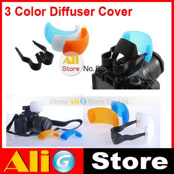 10PCS 3 Color Pop-Up Flash Diffuser Soft Box Softbox For 600d 650d 700d 60d 70d d3200 d5200 d5300 Camera Accessories