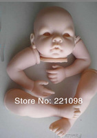 """Free Fashion dolls Accessories shipping Reborn Baby doll kit  Silicone Vinyl head ,3/4 arms and legs for 20-22"""" baby dolls"""