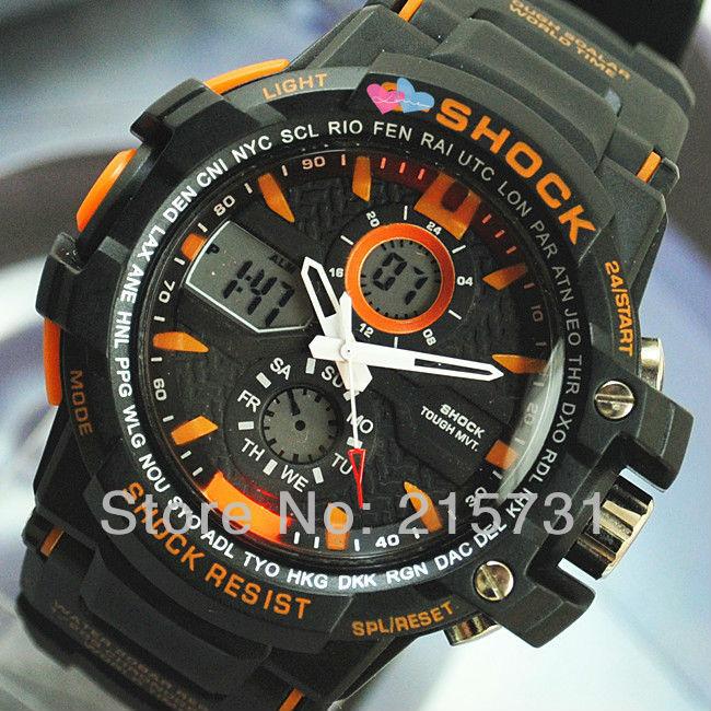 новый G-shock часы мужчин спортивные часы