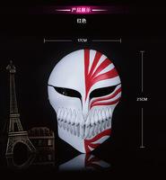 Japanese Anime Movie Theme Mask Kurosaki Ichigo Resin Mask Cosplay Masquerade Full Face Death Mask