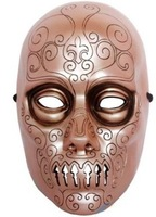 Resin decorative mask The movie theme mask Resin Harry Potter Death Eater Mask harry potter movies cosplay Halloween