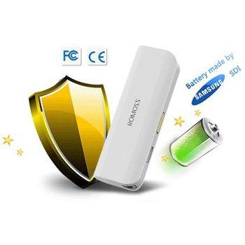 2600mAh ROMOSS External power bank USE SAMSUNG 2600mAh cells