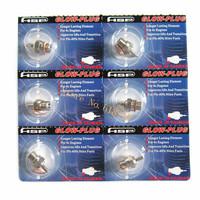 6pcs N3 Hot Glow Plug #3 Spark For Vertex SH Nitro Engine Parts Accessories 1/10 1/8 RC Model Car Trucks OS 8 Himoto HSP 70117