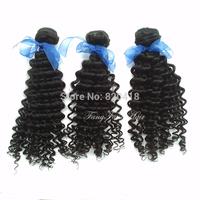 Free Shipping new star malaysian hair deep curly 4pcs lot  100% human hair can be dyed bella dream hair alibaba express