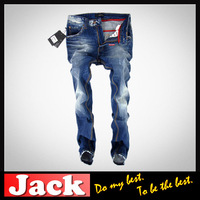 high quality 2013 new style designer fashion top brand cheap hot skinny blue brand luxury jeans for men
