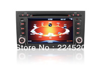 "7"" 2-Din In Dash Car DVD Player For Audi A4 2002-2007 with RDS GPS Navigation Stereo Radio Bluetooth TV Auto Video Audio Ipod"