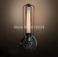 Loft Vintage Nostalgic Industrial Lustre Ameican Edison Wall Sconce Lamp bathroom Beside Bedroom Home Decor Modern Lighting
