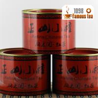 New 2013 Premium Wuyi Lapsang Souchong Red Tea With Gift Tin Box,Perfume Black Tea Dianhong,Health Slimming Tea,Free Shipping