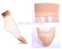 wholesale 10pcs/lot cheap quality colored transparent women crystal silk nylon socks enhance toe calcetas  collant