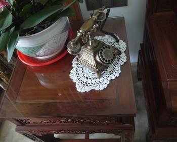 Crochet Doilies Placemats Set - Lot of 6 pcs 10 x 14 Inch Vintage Crochet Doily table mats Custom Color