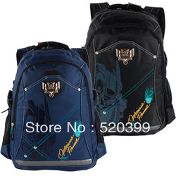 Transformers cartoon bag children/kids backpack boys backpack school bag for boys kids bag(China (Mainland))