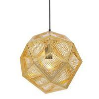 [Glisten Lighting]Free shipping 32CM Etch Shade Pendant Lamp Modern Brass Pendant Lights Design By Tom Dixon PL187
