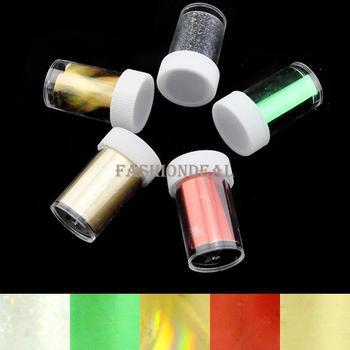35pcs/lot 2013 New Fashion 5rolls/set Art Adhesive Sticker Nail Transfer Foil Set Tip Decoration 7 Sets Free Shipping 13147 b015