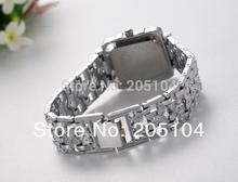 2015 New Fashion Watch Women Luxury Bracelet Quartz Watch Women Clock Stainless Steel Wrist Watches Lady