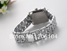 Elegant Silver Watch Women Luxury Bracelet Quartz Watch Women Clock Stainless Steel Wrist Watches relojes Hour