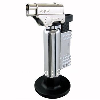 new Metal shell GAS Welding torch light/Cooking Hand Metal GUN GAS Lighter 1300 c jet flame GAS torch free shipping