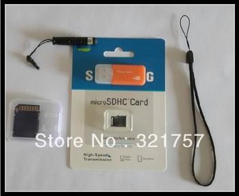 Free Shipping 2/pcs 32G Micro SD HC TF Card    Send memory card reader Send slot Send capacitive pen