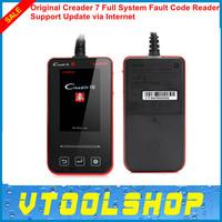 [Authorized Distributor] Top 2014 Professional Creader 7 Full-System Fault Code Reader LAUNCH Creader VII Update via Internet