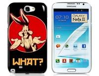 Cute Rabbit Print Hard Plastic Case for Samsung Galaxy Note 2 N7100       LMS-2027D