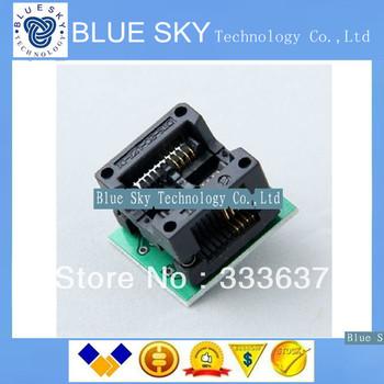 Free Shipping 5PCS /LOT New SOP8 turn DIP8  IC socket Programmer adapter Socket