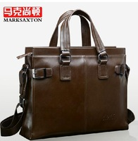 Hot sale!! New Genuine Leather Men Business Bag Briefcase Handbag Men Shoulder Bag Laptop Bag,free shipping