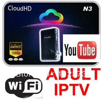 Cloud HD N3 FREE IKS Account open Hotbird Sky Italia Sky UK,iBox MINI HD Satellite Receiver DVB-S2 Set top box ADULT IPTV