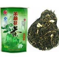 new  Promotion Organic Jasmine Flower Tea Green Tea 100g +Secret Gift+Free shipping jasmine green tea