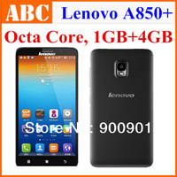 100% Original Lenovo phone MTK6592 Octa Core 1.4GHz 1GB RAM 4GB 3G Android 4.2 Smart phones Russian Spanish google play store