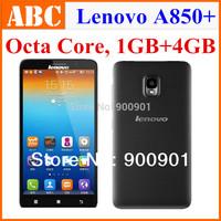 100% Original Lenovo phone MTK6592 Octa Core 1.4GHz 1GB RAM 4GB 3G Android 4.2 Smart phones Russian Spanish google play store