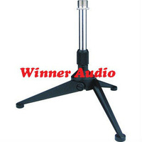 Folding desktop tripod microphone stand for Laptop Notebook PC computer