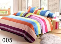 promotion bedding set 4 pcs cotton blending twin full queen size 14 designs to choose