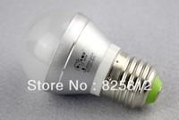 Big Eye color box 3W E27 big sprial led ball bulb led bulbs led ball light CFL(white color)