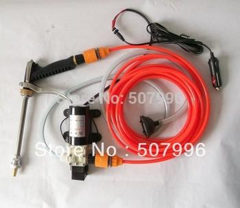 Free Shipping Brand New Electric car wash device portable high pressure car wash water gun 45w pump 1206 D-577