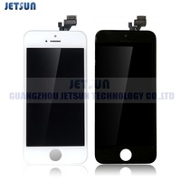 Free Shipping for iPhone 5G LCD screen assembly with digitizer,100% gurantee Tested LCD