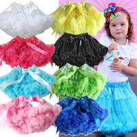 Children Girls Soft Chiffon Pettiskirt Baby Solid Color TuTu Skirt CAN FREE CHOOSE ANY COLOR AND SIZE 10 Pcs/Lot Free Shipping