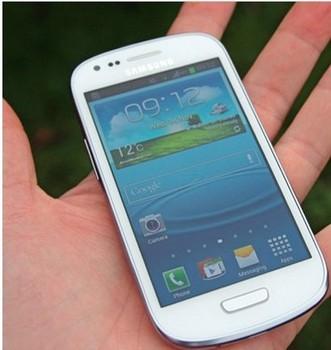 HK post free shipping the new mini i9300 mobile phone mtk6515 single sim card wifi gps smart phone